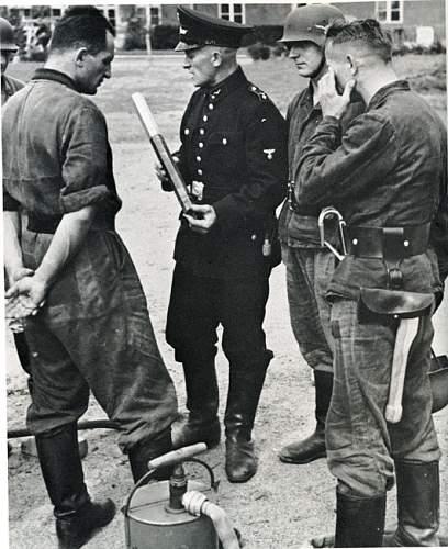Luftwaffe Fliegerhorstfeuerwehr Visor