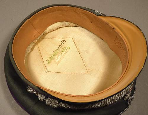 Chaplain visor
