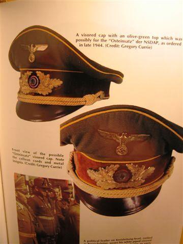 Osteinsatz officer visor
