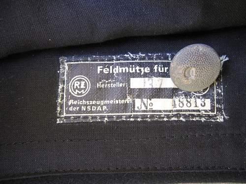 Black SS Tank cap