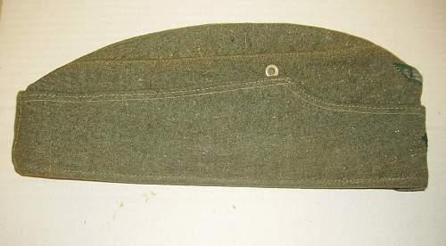 Latest addition:  M34 side cap