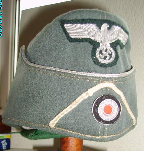 Post your M38 Heer Officers Feldmutze neue Art