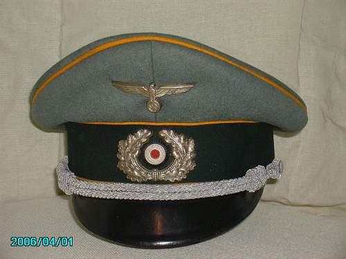 Heer Cavalry officers schirmutze - Marke Standard Extra Klasse
