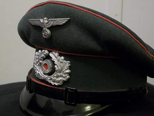 Heer Panzer enlisted/NCO's schirmutze (Peter Kupper)