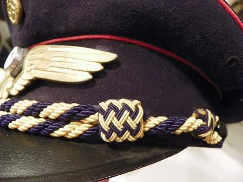 Reichsbahn visor cap