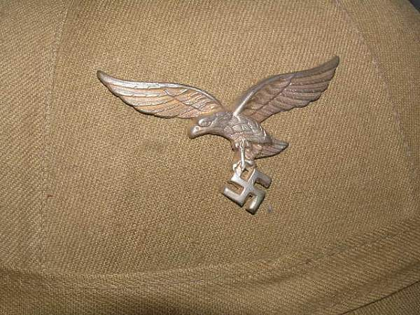 Luftwaffe Pith Helmet ?