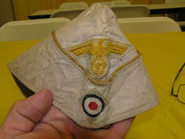 Kriegs. Tropical Officers O.S. Cap??