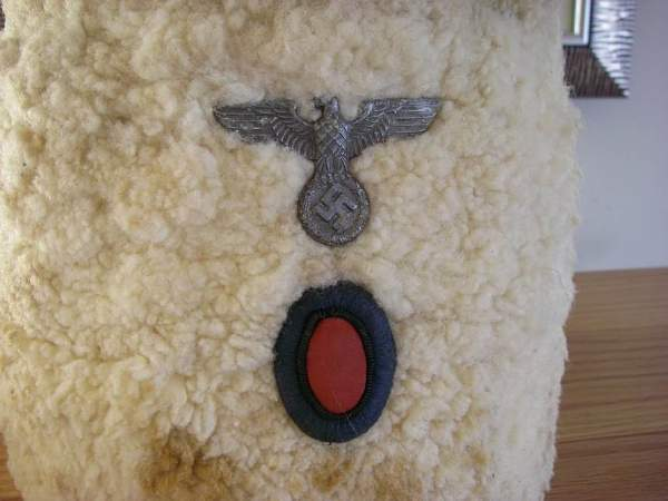 "WWII German Foreign Legion ""Don Cossack"" Papachka"