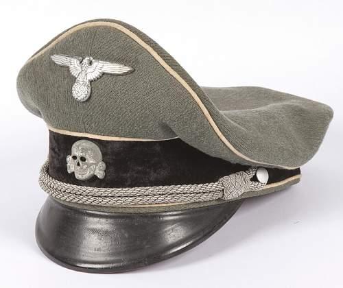 Cav Officer Schirmmutze