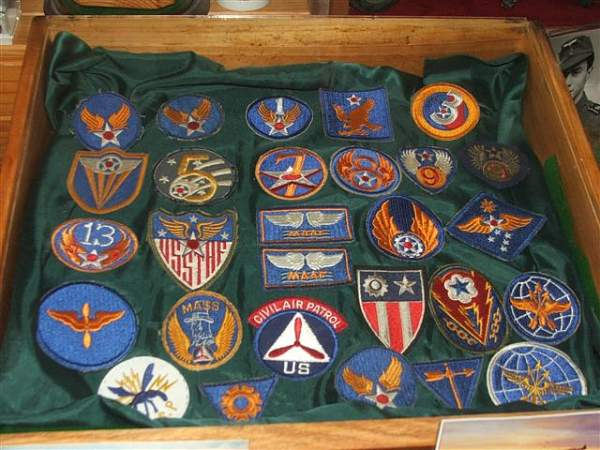 Some caps displayed