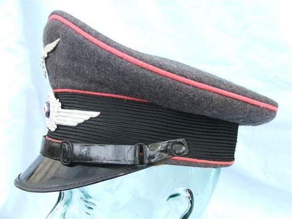 Click image for larger version.  Name:Pink piped Luftwaffe visor cap 009.jpg Views:162 Size:53.8 KB ID:20759