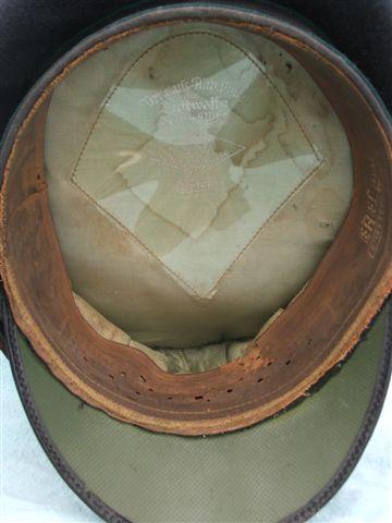Luftwaffe NCO's Admin piped visor cap