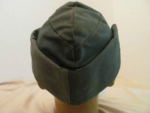 Strange German WW2 Field Cap ?