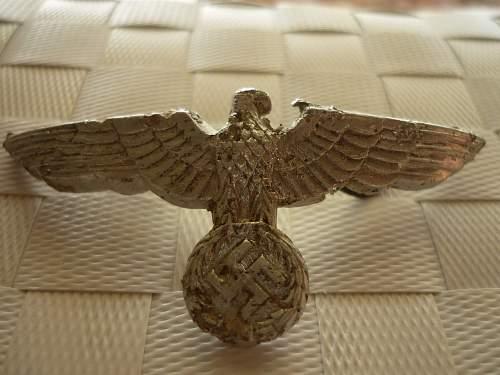 Eagle From Visor Cap