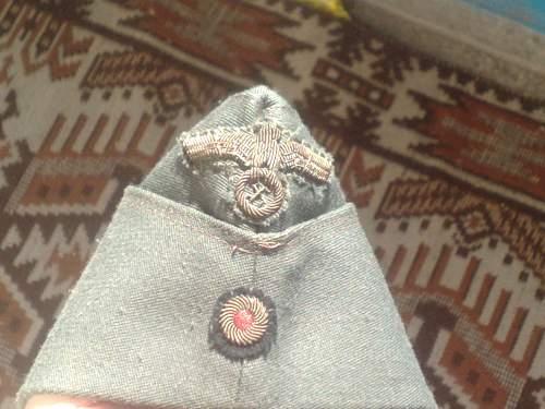 feldmutze - filed cap ! Found in a military storage. ORIGINAL. SALE !!!