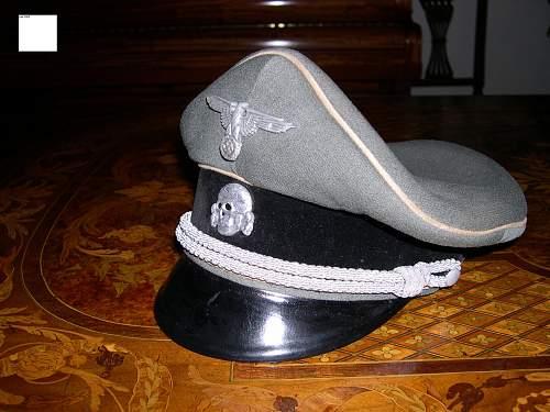 Algemeine SS EM/NCO Visor Hat...