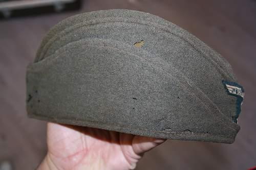 My Feldmutze. Old.. With lots of wear