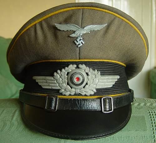 Click image for larger version.  Name:Luftwaffe NCO's Schirmutze 004.jpg Views:392 Size:252.6 KB ID:256831