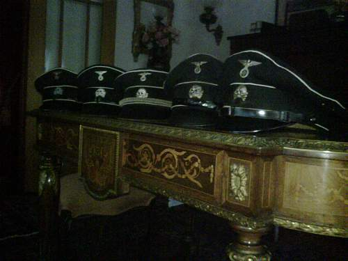 cap of an SS Reiter from Lower Bavaria