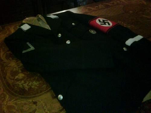 SS NCO'S schirmutze