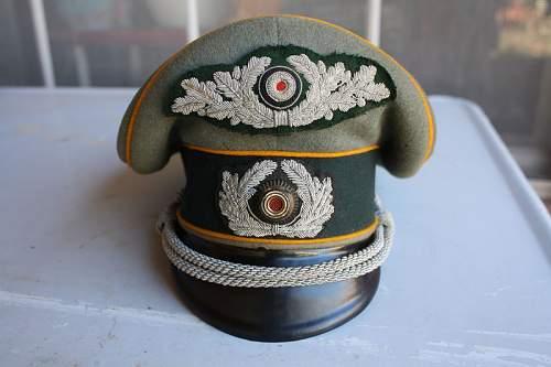 Ebay visor hat w/wreath on top item# 270855589876 under headgear