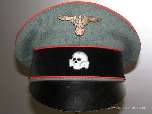 Paul Kaps SS General's Schirmmeutze - potentially!
