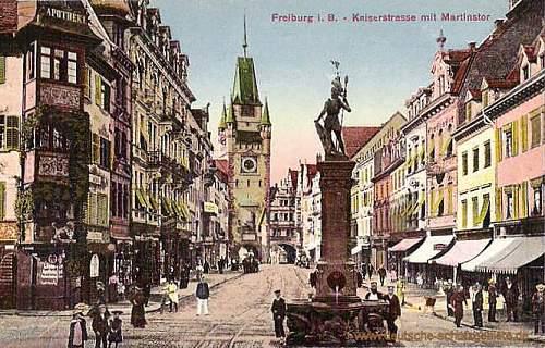 Click image for larger version.  Name:Freiburg_Kaiserstrasse_Martinstor.jpg Views:74 Size:84.0 KB ID:270965