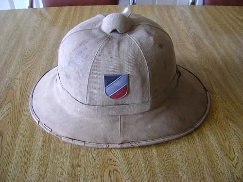 Afrika Korps Tropenhelm