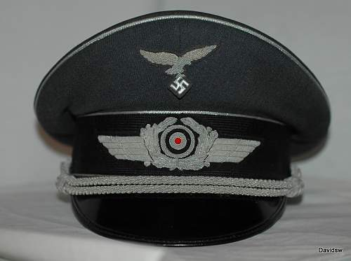 Rarest of the Luftwaffe-Related Visors?: