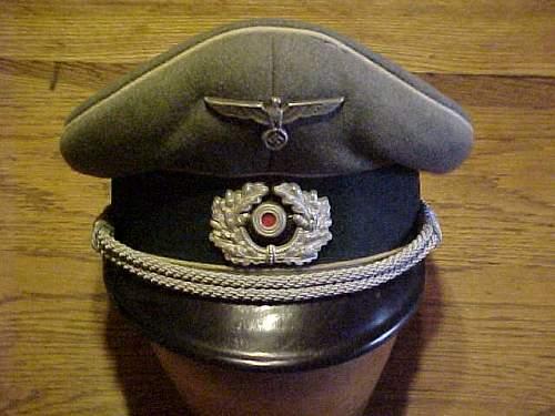 Heer Officers schirmutzen