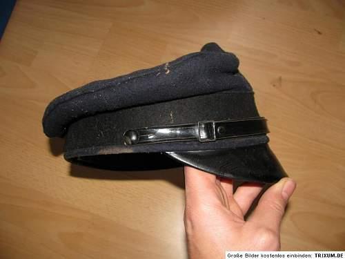 Strange German cap...can you help me ?