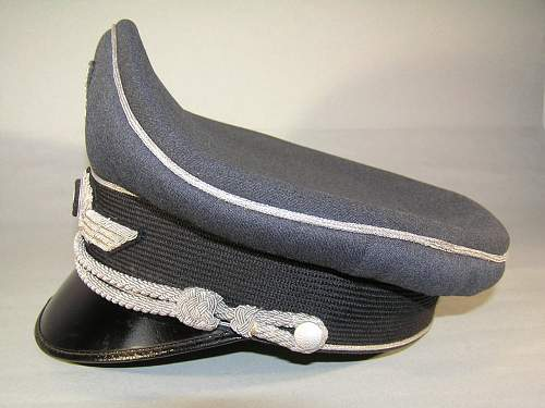 Luftwaffe Officers schirmutze (Erel)