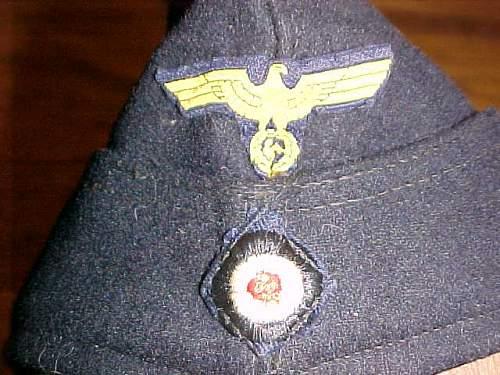 Kriegsmarine Bordmütze