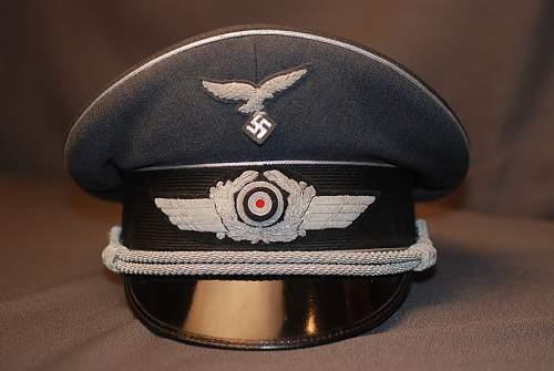 Rarest of the Luftwaffe-Related Visors?: