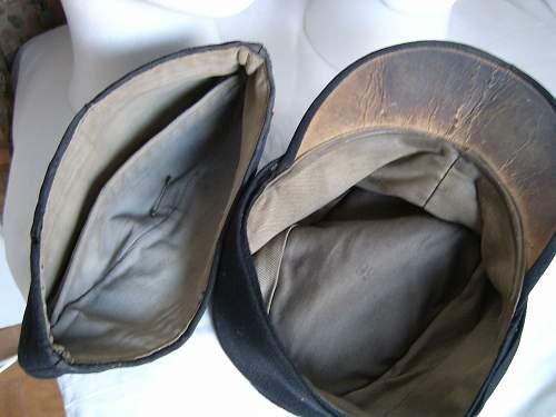 Black Panzer caps