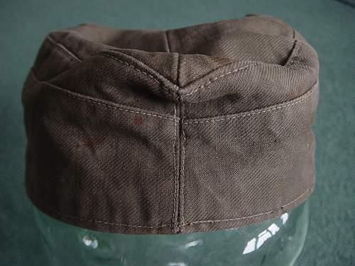 Attempted fraud: some crook is trying to sell one of my Heer Tropical caps!