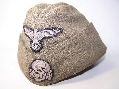 Waffen SS M 40 side cap Feldmuetze