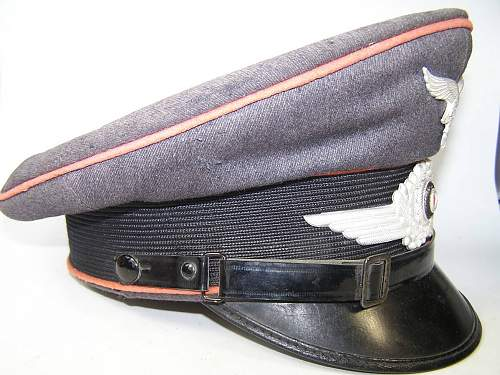 Luftwaffe Engineering visor hat