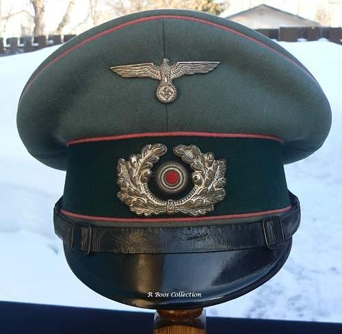 Panzer Caps