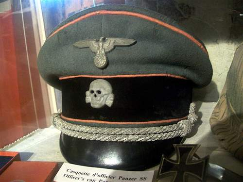 Some cloth headgear from my travels around Normandy Museums.