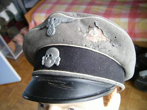 cleaning and restoration of the cap that came with some history