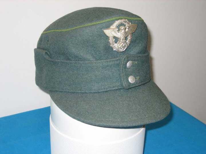 Ww2 German Police M43 Hat Badge: Police • Schutzpolizei M43 Cap