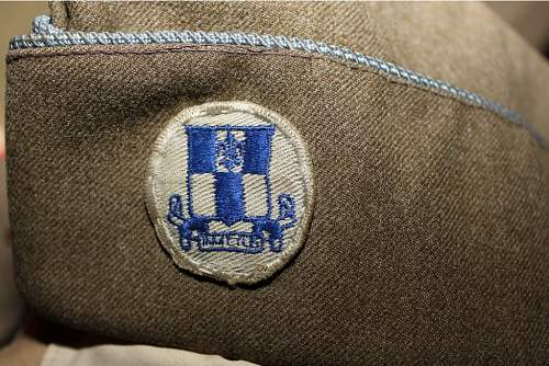 Click image for larger version.  Name:Dad's WWII 345th OS Hat.jpg Views:35 Size:115.2 KB ID:328351