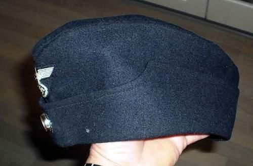 Reichbahn cap.