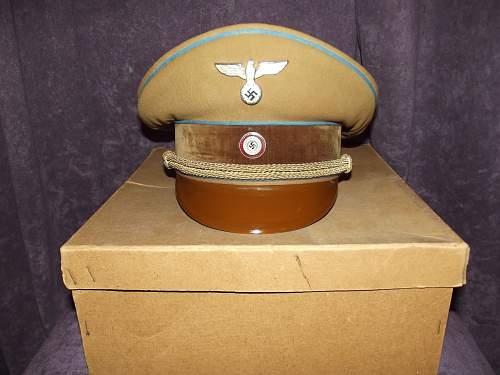 Mint, Boxed Form 3 NSDAP Ortsgruppenleiter Visor