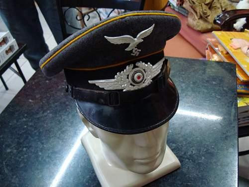 Luftwaffe Visor Cap - Opinions please