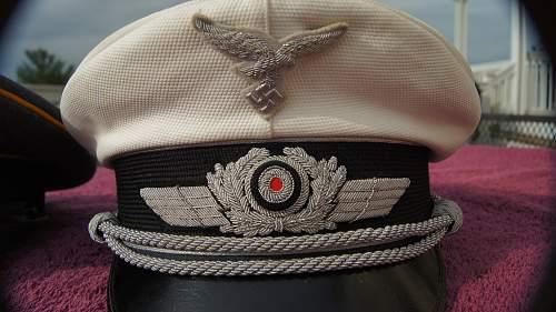 Luftwaffe summer visor named