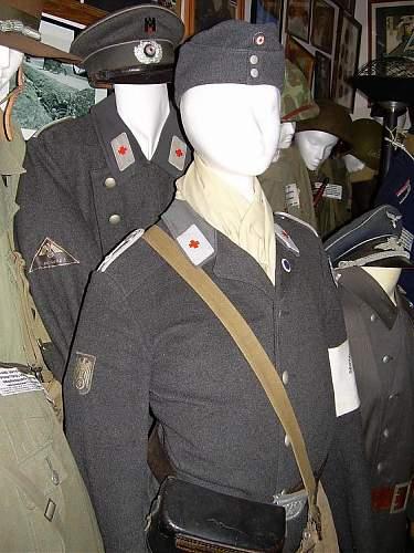 German Red Cross headgear