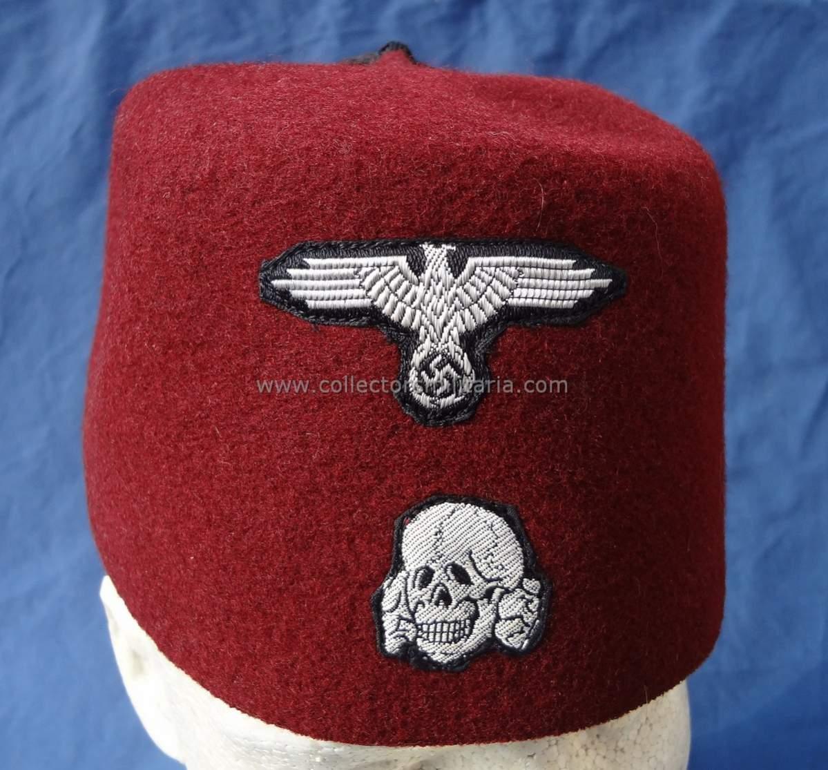 Waffen SS Handschar Fez c79c2d57b23