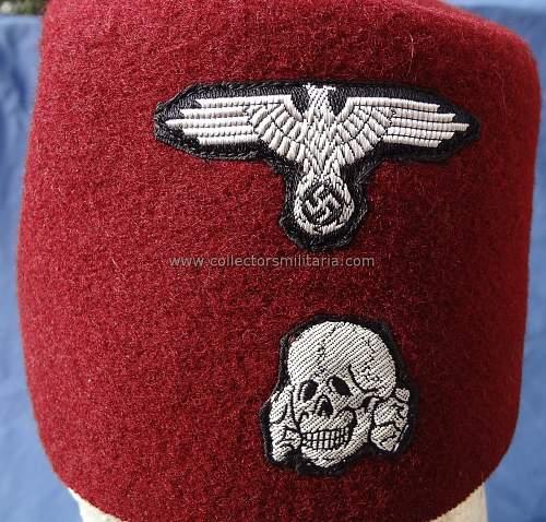 Waffen SS Handschar Fez